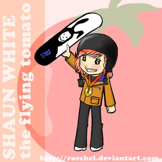 Shaun White by raechel